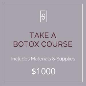 """""""Take a Botox Course"""""""