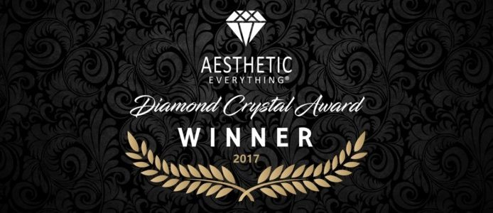 Aesthetic Everything Diamond Crystal Award Winner 2017